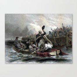 Washington's Adieu To His Generals Canvas Print
