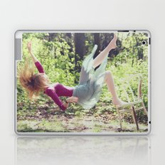 This skirt was made for falling Laptop & iPad Skin