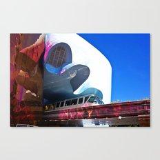 Seattle Center Monorail Canvas Print