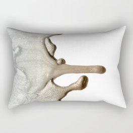LIQUID SILVER & NUDE Rectangular Pillow