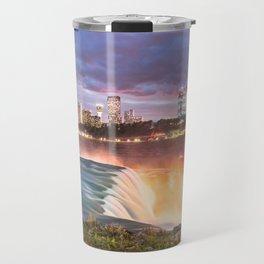 Niagara Falls: The Flow Aglow Travel Mug