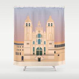Santiago de Compostela Cathedral, Camino de Santiago, Galicia, Spain Shower Curtain