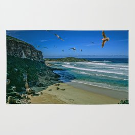 Sea Gulls of Plettenberg Bay, Western Cape Rug