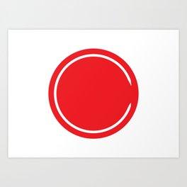 Red Circle - Riverdale Art Print