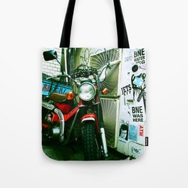 harajuku bike Tote Bag