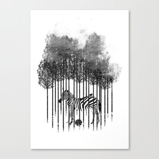 Natural Prisoner Canvas Print