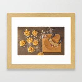 Pasta. Framed Art Print