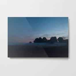 Hamerton Fields Metal Print