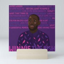 Winston Bishop Mini Art Print