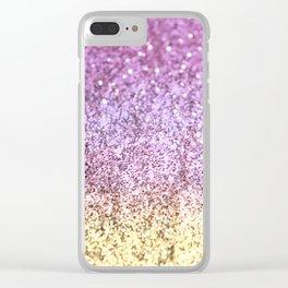 Unicorn Girls Glitter #5 #shiny #decor #art #society6 Clear iPhone Case