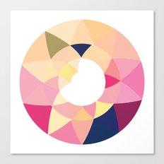 Datadoodle Donut Canvas Print