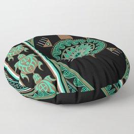 Green Turtle Floor Pillow