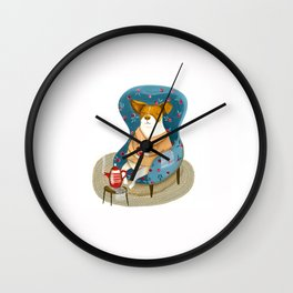 Morran the dog Wall Clock