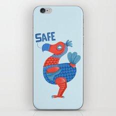 Safe Dodo iPhone & iPod Skin