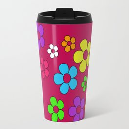 Flashback Fuschia Travel Mug