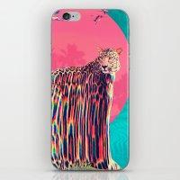 jaguar iPhone & iPod Skins featuring Jaguar by Ali GULEC