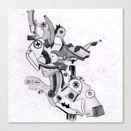 metal elbow Canvas Print