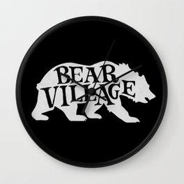 Bear Village - Polar Wall Clock