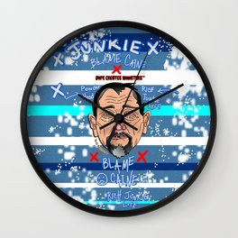 Dope Creates Monsters Wasted Wall Clock