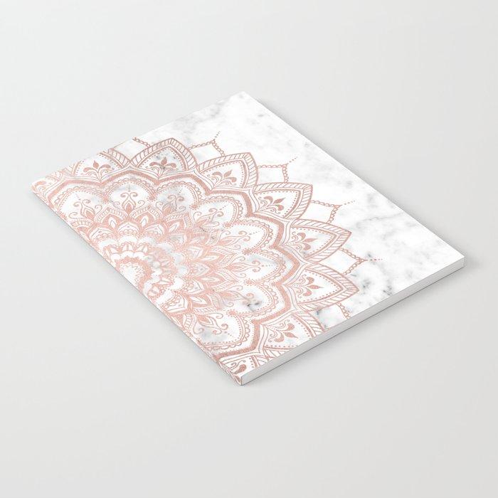 Pleasure Rose Gold Notebook