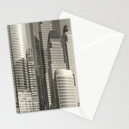 """""""Urban Angles #1 in Gold"""" by Murray Bolesta Stationery Cards"""