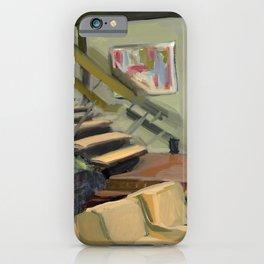 A Very Brady 70's Living Room iPhone Case