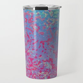 Colorful Corroded Background G284 Travel Mug