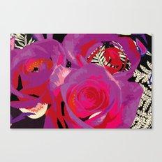 Flowers series_v02 Canvas Print