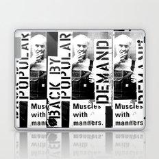 Muscles on Demand (B&W) Laptop & iPad Skin