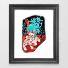 Lost...in a wrong sea Framed Art Print