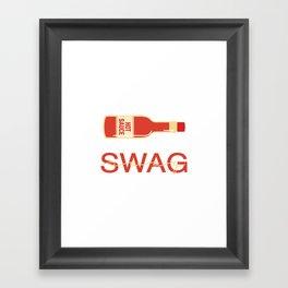Swag 2 Framed Art Print