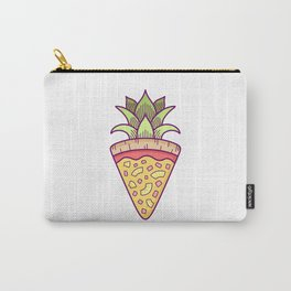 Pineapple Pizza Coat of Arms Carry-All Pouch