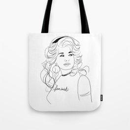 Feminist Dolly Tote Bag