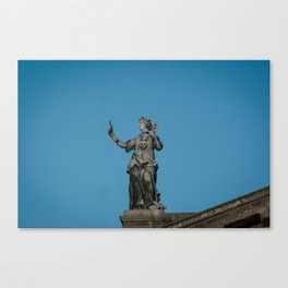 To A Muse Canvas Print