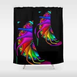 highheels -2- Shower Curtain
