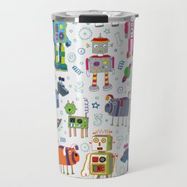 Robots in Space Travel Mug