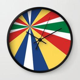 Diversions #1 Perspective 2 Wall Clock