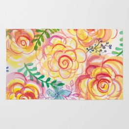 Sunshine and Roses Rug