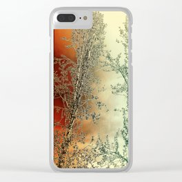 Autumn Poplars, Sunlight Dreaming About You Clear iPhone Case