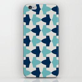 Alhambra Motif Blue Palette iPhone Skin
