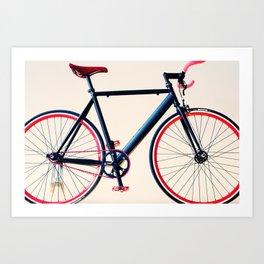 Tour de France, Giro d'Italia, Bicycle Art Print