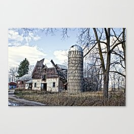 Wisconsin Old Barn 3 Canvas Print
