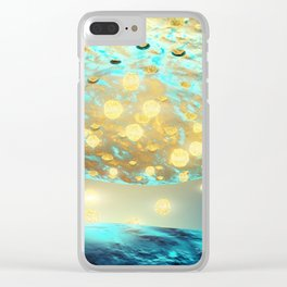 Human neuron structure Clear iPhone Case