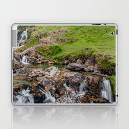 Watkin Waterfall Snowdonia Laptop & iPad Skin