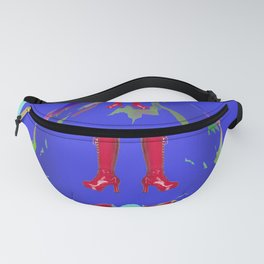 The Weight of Time on May - shoes stories Fanny Pack