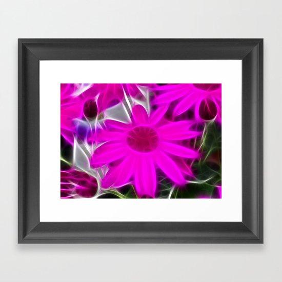 Senetti Daisy Framed Art Print