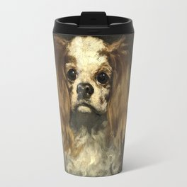 Edouard Manet - A King Charles Spaniel Travel Mug