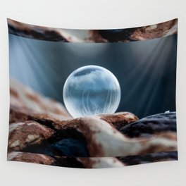 Wooden Hills Wall Tapestry