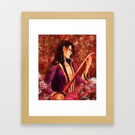 Spider Lilies Run Red with Blood Framed Art Print