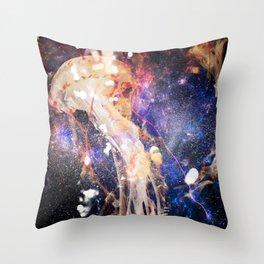 SpaceJelly Throw Pillow
